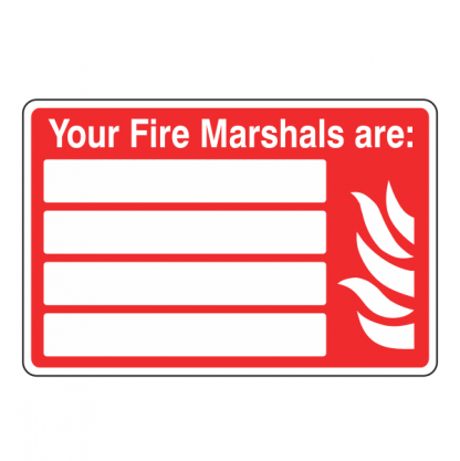 Fire Marshal Sign